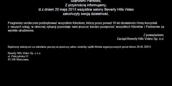 Koniec bhv.pl