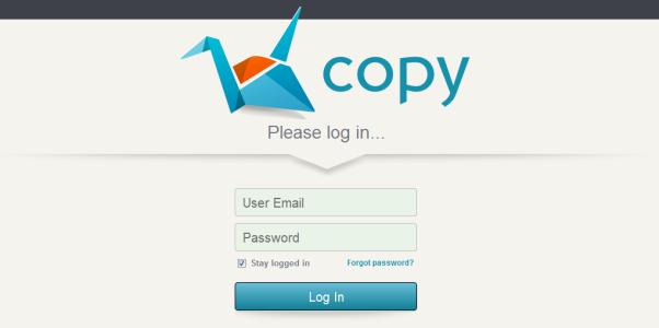 Od teraz minimalna wielkość bezpłatnego wirtualnego dysku na copy.com to 15GB