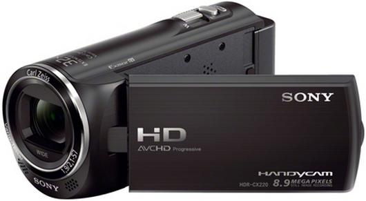 Kamera cyfrowa Sony HDR-CX220 czarna